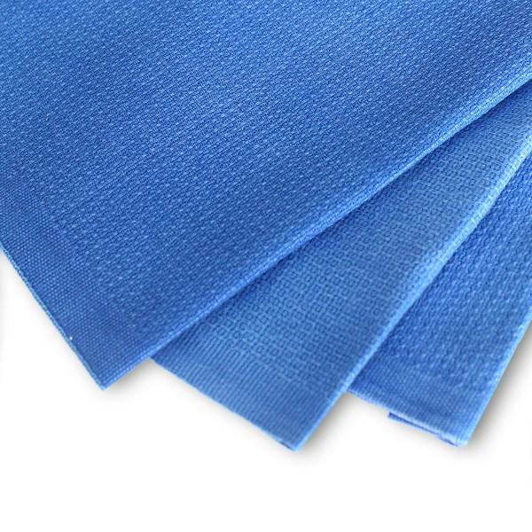 Putzlappen Handtuch blau